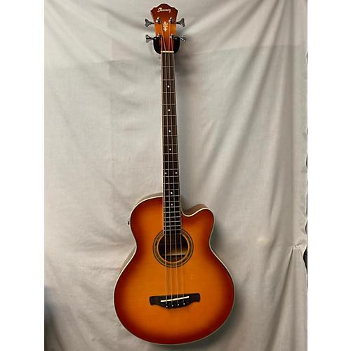 Ibanez AEB20E-W Acoustic Bass Guitar