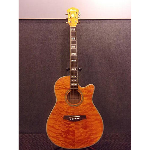 Ibanez Aef37e Acoustic Electric Guitar Great Installation Of