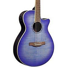 AEG-19II Acoustic-Electric Guitar Magenta Purple Burst
