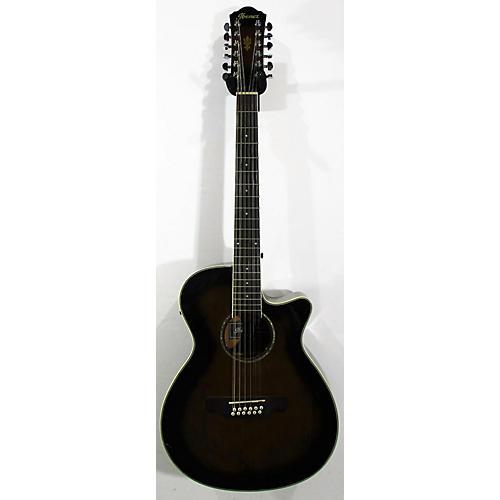 used ibanez aeg1812ii dvs 12 string acoustic electric guitar brown sunburst guitar center. Black Bedroom Furniture Sets. Home Design Ideas