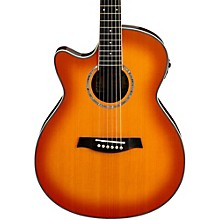Ibanez AEG18LII Cutaway Left-Handed Acoustic Electric Guitar