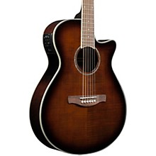 AEG20II Flamed Sycamore Top Cutaway Acoustic-Electric Guitar Tiger Eye