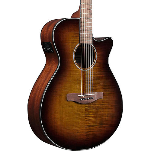 Ibanez AEG70 Flamed Maple Top Grand Concert Acoustic-Electric Guitar