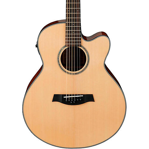 Ibanez AEL108MD-NT 8-String (Doubled Octave G&D) Acoustic-Electric Guitar