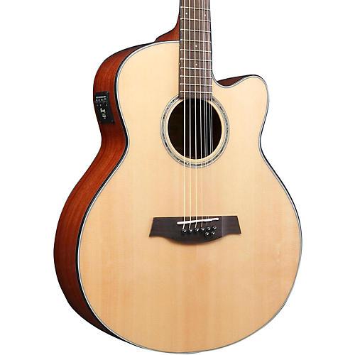 ibanez ael108td nt 8 string double e b acoustic electric guitar guitar center. Black Bedroom Furniture Sets. Home Design Ideas