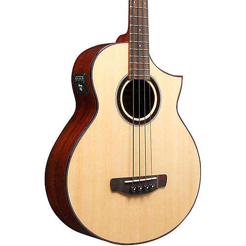 Ibanez AEW Series AEWB20NT Acoustic-Electric Bass Guitar
