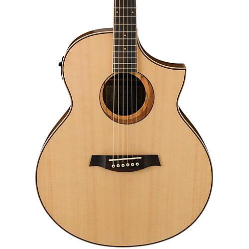Ibanez AEW21VKNT Ovangkol Exotic Wood Acoustic-Electric Guitar