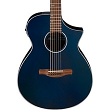 AEWC10 Acoustic-Electric Guitar Night Metallic Blue