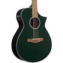 AEWC10 Acoustic-Electric Guitar Night Metallic Green