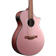 AEWC10 Acoustic-Electric Guitar Rose Gold High Gloss