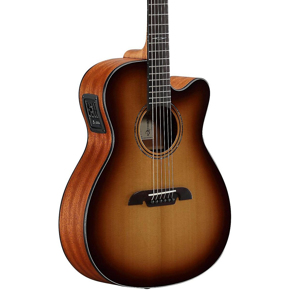 Alvarez AF60CESHB Folk Acoustic-Electric Guitar