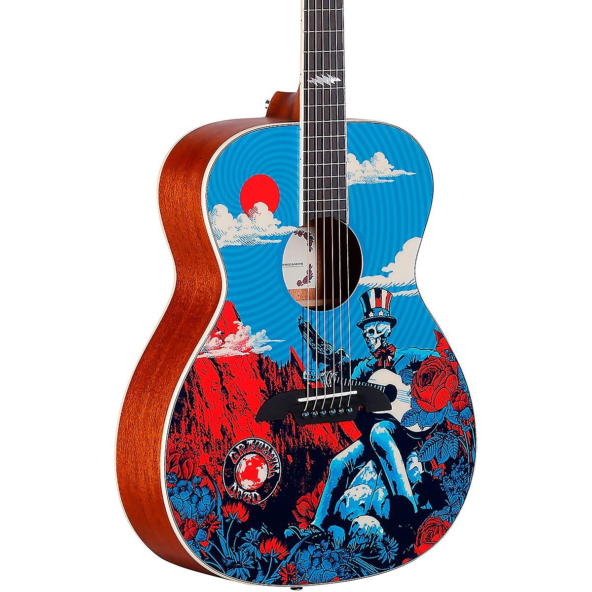 Alvarez AF60GD Grateful Dead OM Acoustic Guitar