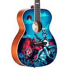 AF60GD Grateful Dead OM Acoustic Guitar Sunshine Shadowburst