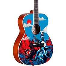 AF60GD Grateful Dead OM Acoustic Guitar Sunshine