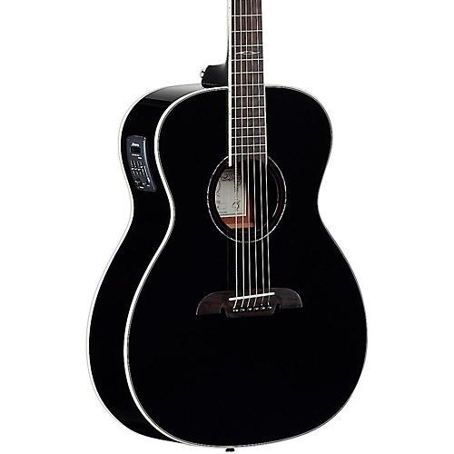 Alvarez AF610EBK Folk Acoustic-Electric Guitar