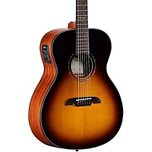 AF610ESB Folk Acoustic-Electric Guitar Level 2 Sunburst 190839314796