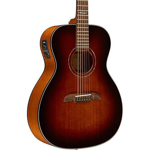 Alvarez AF660ESHB OM/Folk Acoustic-Electric Guitar