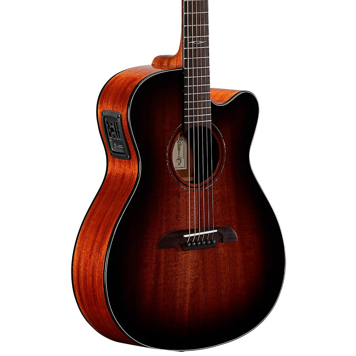 Alvarez AF66CESHB Folk Acoustic-Electric Guitar
