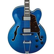 AF75FM Artcore Hollowbody Electric Guitar Transparent Blue