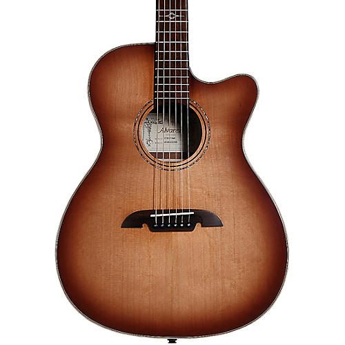 Alvarez AFA95CESHB Artist Elite Folk/OM Acoustic-Electric Guitar