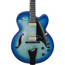 AFC Contemporary Archtop Electric Guitar Level 2 Jet Blue Burst 190839231475