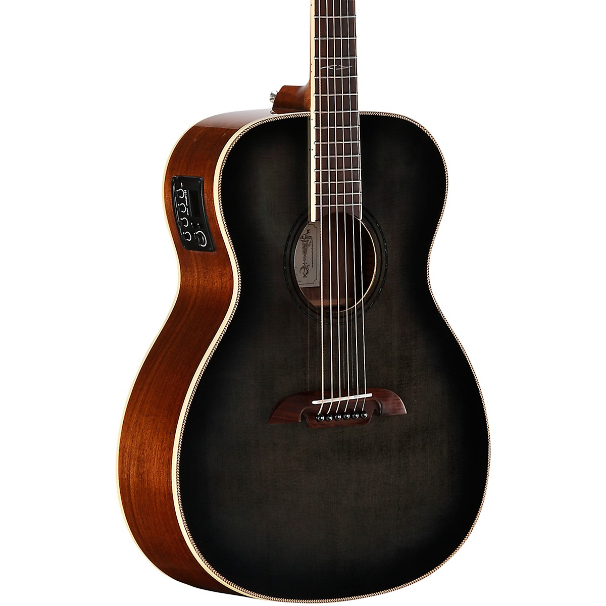 Alvarez AFH700WEOB Artist Folk Acoustic-Electric Guitar