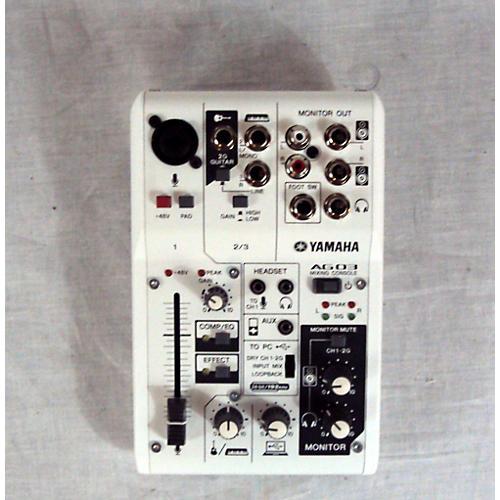 Yamaha AG03 Mixer Unpowered Mixer