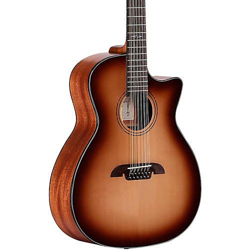 Alvarez AG610CE-12SHB Artist Grand Auditorium Acoustic-Electric Guitar
