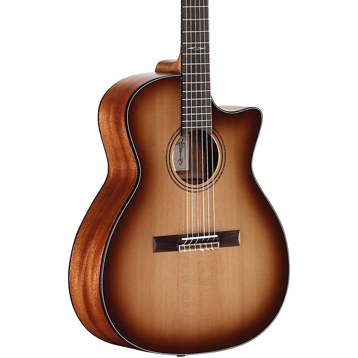 Alvarez AG610CESHB-N Artist Grand Auditorium Nylon String Acoustic-Electric Guitar