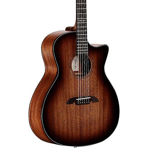 Alvarez AG660CE-SHB Artist Grand Auditorium Acoustic-Electric Guitar With Cutaway