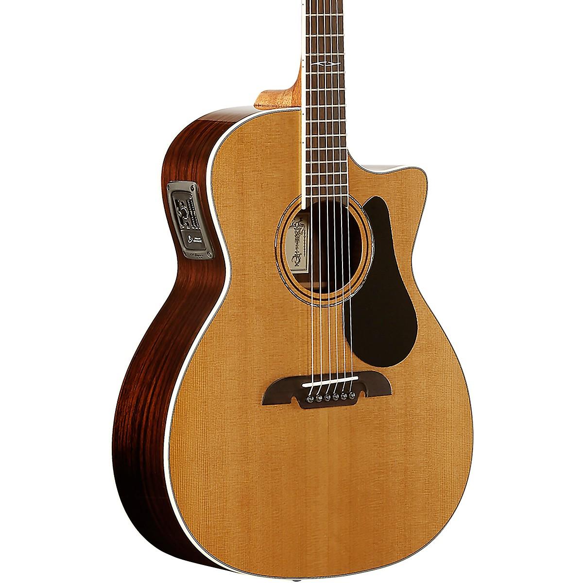 Alvarez AG75WCE Artist Series Grand Auditorium Acoustic-Electric Guitar