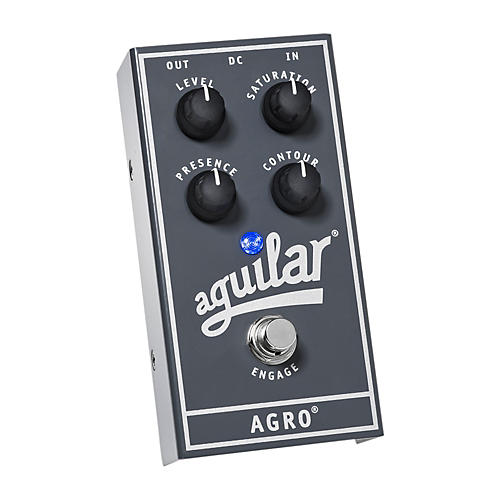 Aguilar AGRO Bass Overdrive Bass Effects Pedal