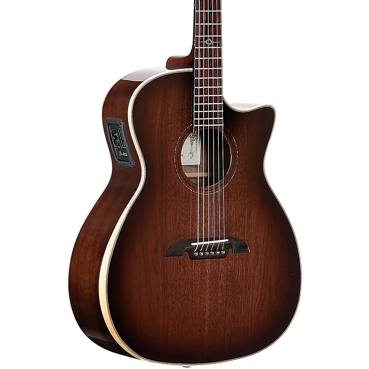 Alvarez AGW77CEARSHB Artist Elite Grand Auditorium Acoustic-Electric Guitar
