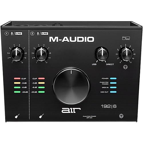 M-Audio AIR 192|6 USB C Audio Interface