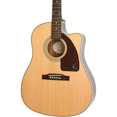 Epiphone Aj Ce Natural Review