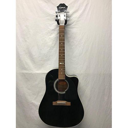 Epiphone AJ30CE BLK Acoustic Guitar