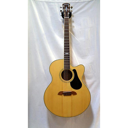 Alvarez AJ418C Jumbo Acoustic Electric Guitar