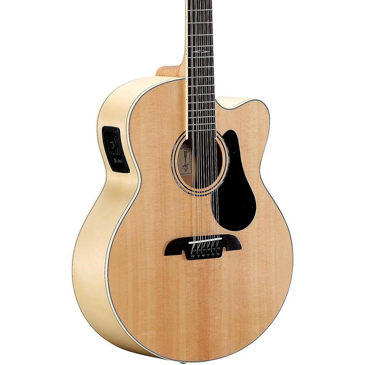 Alvarez AJ80CE-12 12-String Jumbo Acoustic-Electric Guitar