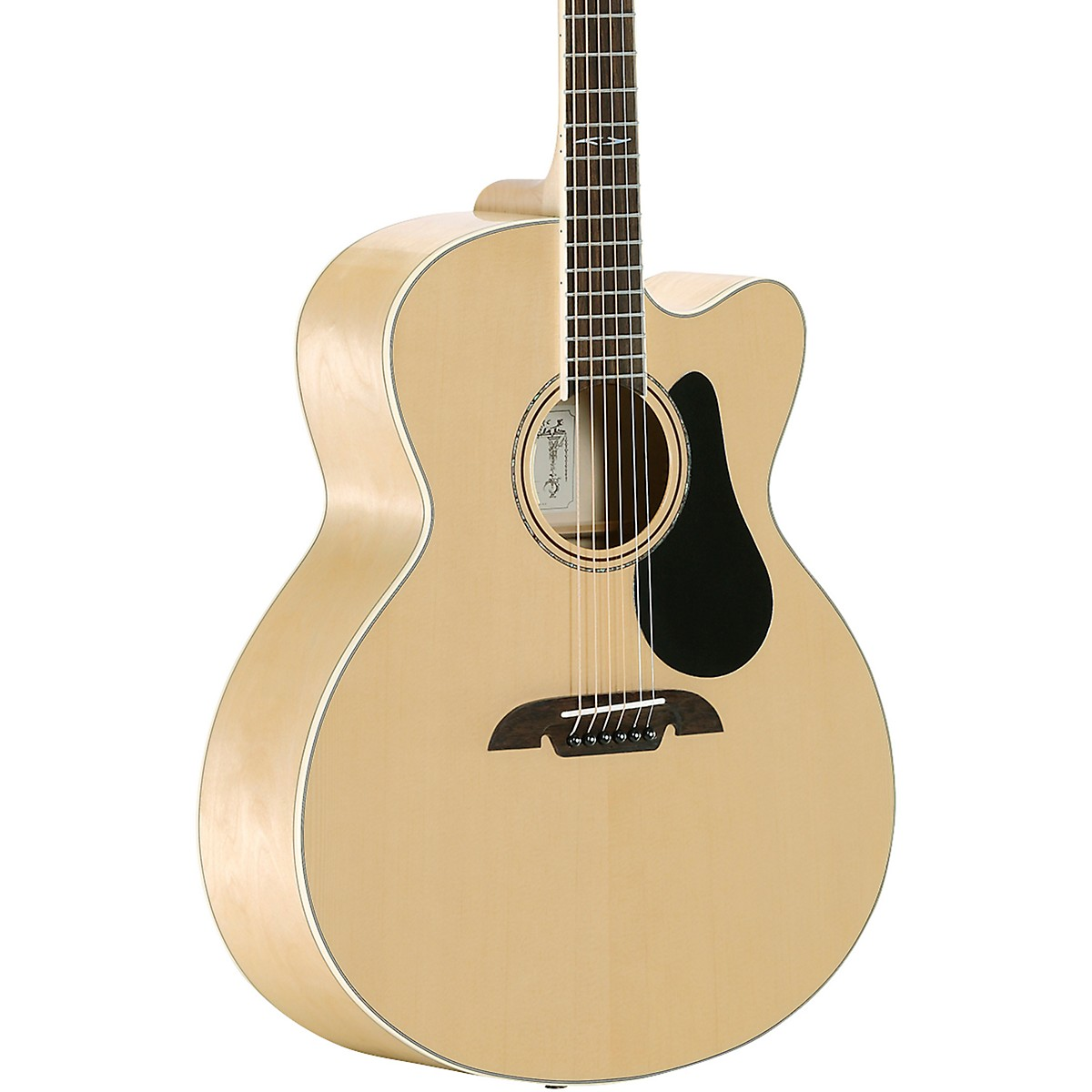 Alvarez AJ810CE Artist Jumbo Acoustic-Electric Guitar