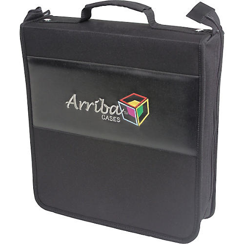 Arriba Cases AL-200 Portable CD and DVD Case