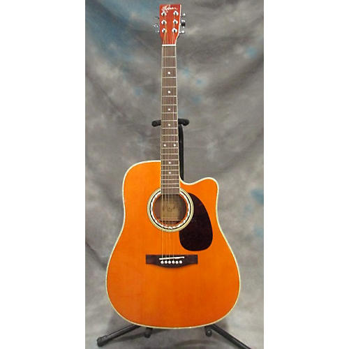 used esteban alc 200 acoustic electric guitar guitar center. Black Bedroom Furniture Sets. Home Design Ideas