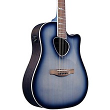 ALT30 Altstar Dreadnought Acoustic-Electric Guitar Blue Sunburst