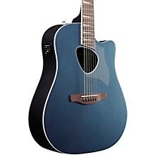 ALT30 Altstar Dreadnought Acoustic-Electric Guitar Indigo Blue Metallic High Gloss