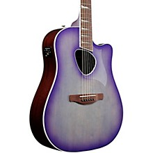 ALT30 Altstar Dreadnought Acoustic-Electric Guitar Purple Iris Burst
