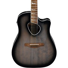 ALT30 Altstar Dreadnought Acoustic-Electric Guitar Transparent Black Sunburst