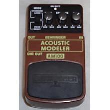 Behringer AM100 Acoustic Modeler Effect Pedal