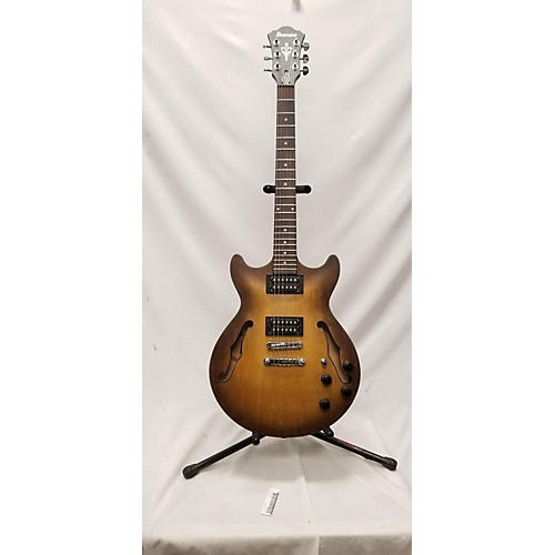 used ibanez am73b archtop hollow body electric guitar tobacco burst guitar center. Black Bedroom Furniture Sets. Home Design Ideas