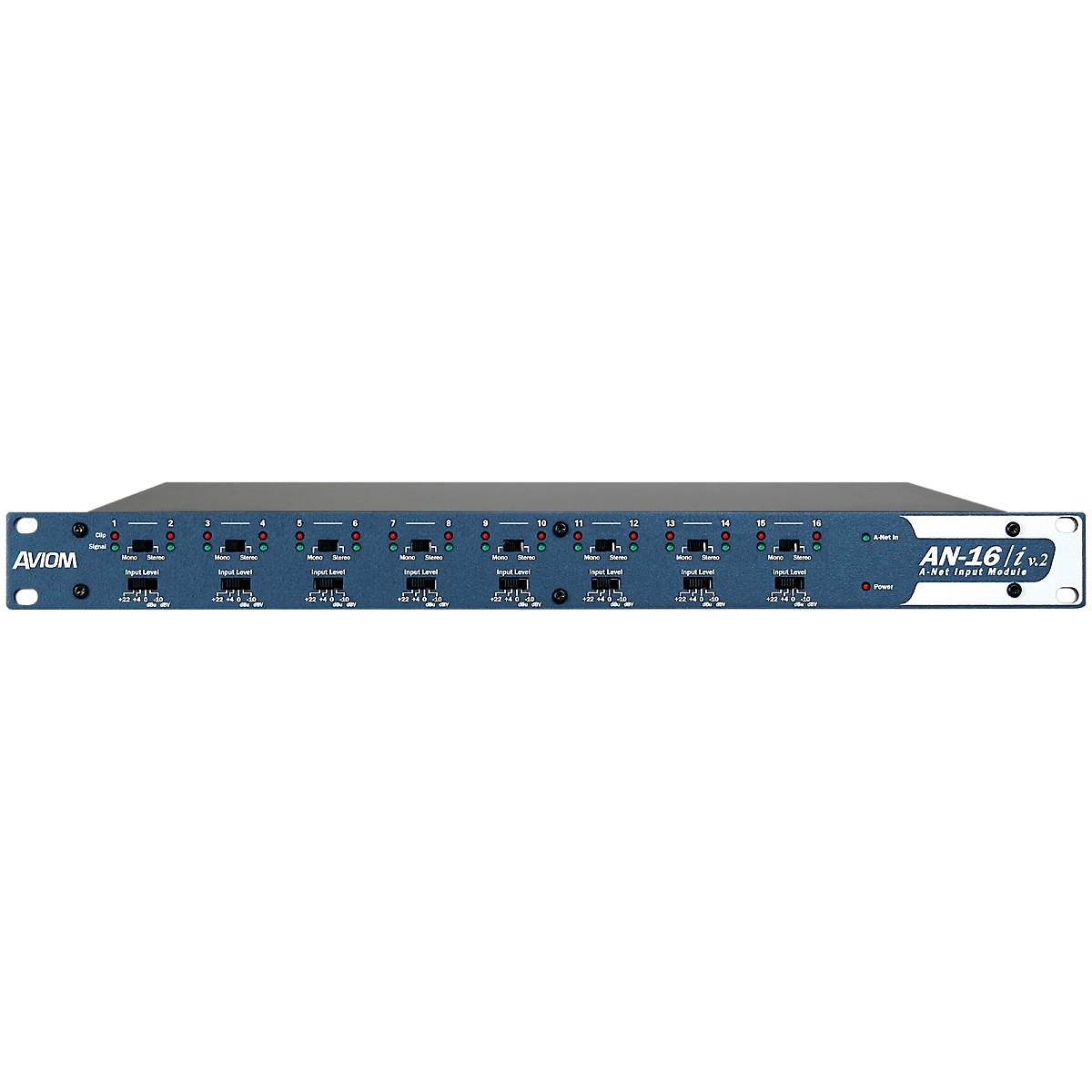 Aviom AN-16/i v.2 Analog Input Module