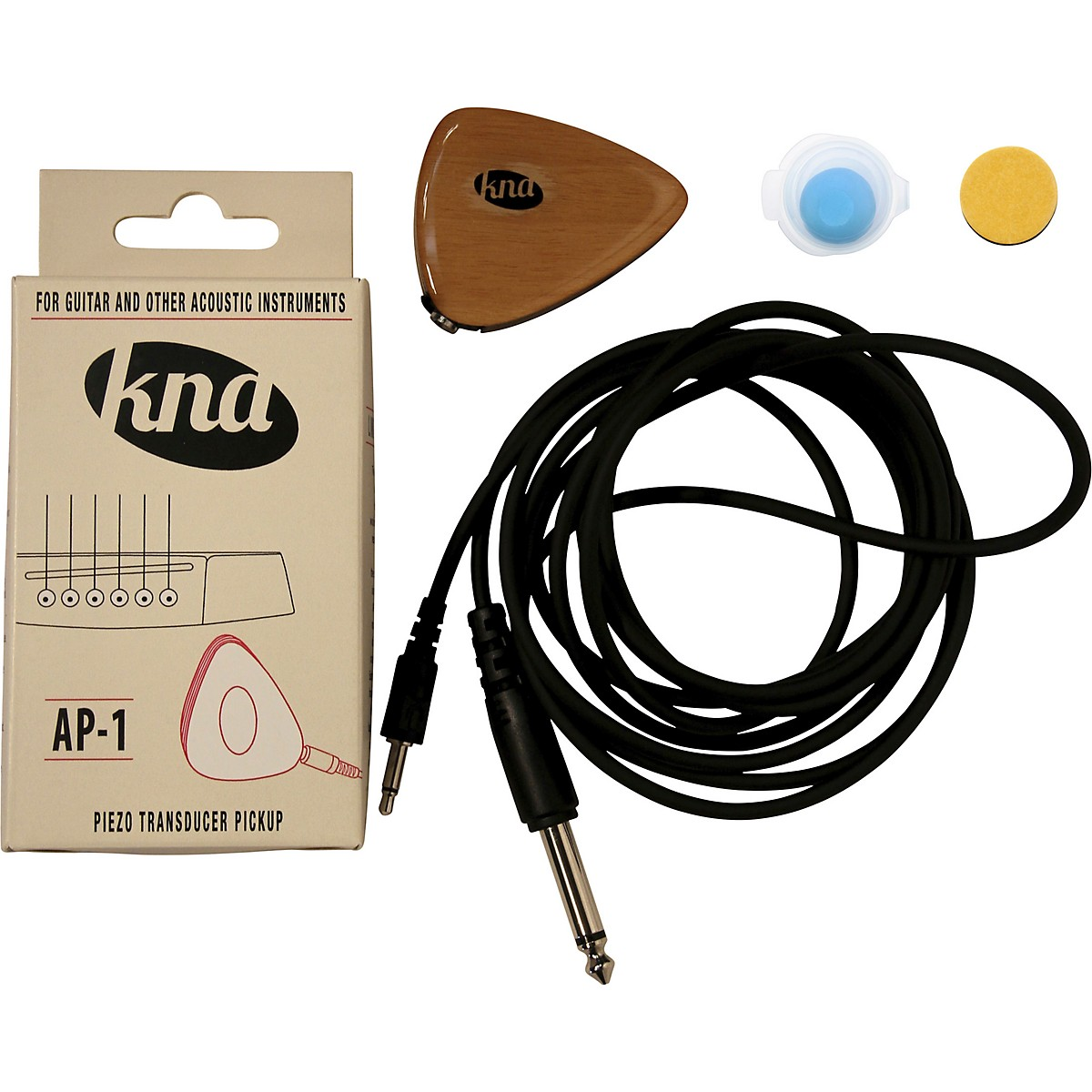 KNA AP-1 Portable Piezo for Guitar and Other Acoustic Instruments
