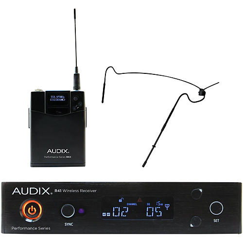 Audix AP41HT5 Headset Wireless system w/ HT5 Omni Condenser mic - Black